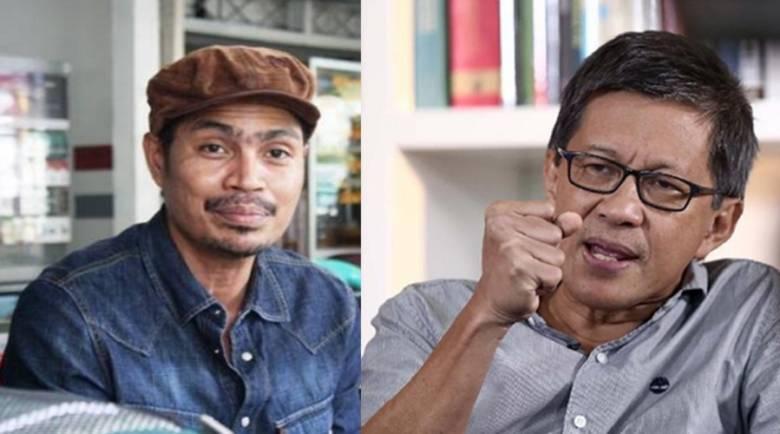 Rocky Gerung & Faizal Assegaf (foto : Fimadani)