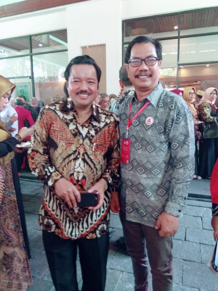 Ketua dan Sekertaris BPD KKSS Kota Bekasi: Ir HM Idris Laena MH dan BM Mardan SE