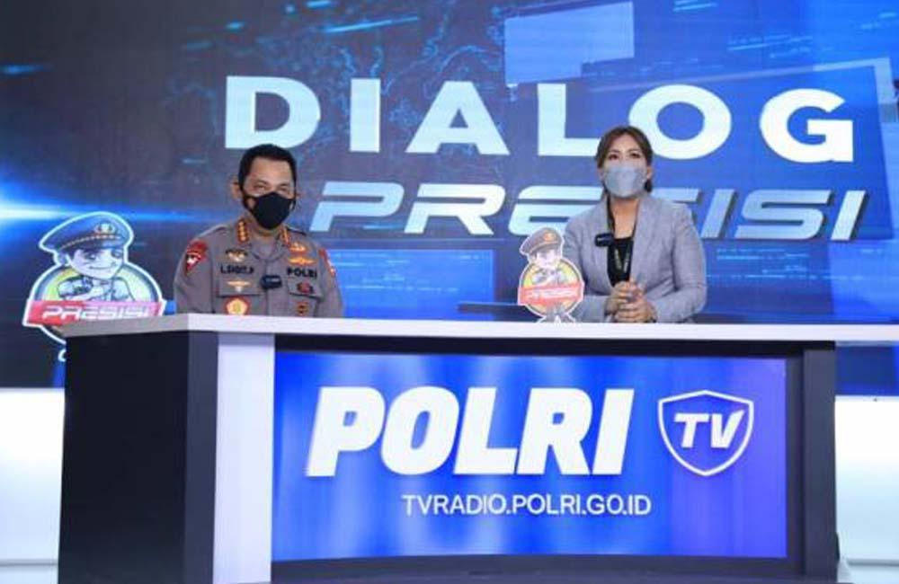 TELEVISI DAN RADIO POLRI RESMI DILUNCURKAN KAPOLRI